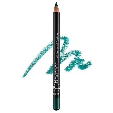 Водостойкий карандаш для глаз Flormar Waterproof Eyeliner № 111 Intensive Jade (Нефрит)