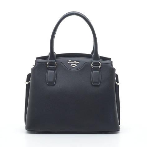 Жіноча сумка David Jones 6416-1T чорна, фото 2