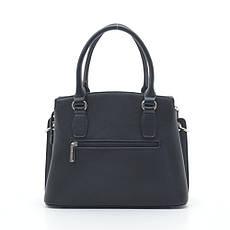 Жіноча сумка David Jones 6416-1T чорна, фото 3