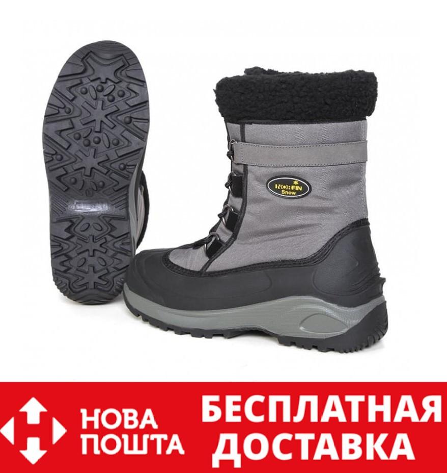 Черевики зимові Norfin SNOW Gray -20° 13980-GY, 43