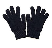 Перчатки женские черные акрил Eltex
