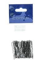 3150061 Шпильки Comair 4,5см черные толстые 50шт