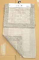 Набор ковриков в ванную MOSSO коричневый  50х60 и 60х100, фото 1