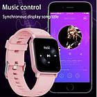 Умные часы Smart Evolution черные / розовые, фото 7