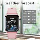 Умные часы Smart Evolution черные / розовые, фото 8