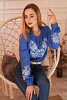 """Жіноча вишита блузка """"Вечірня зірка"""", фото 1"""