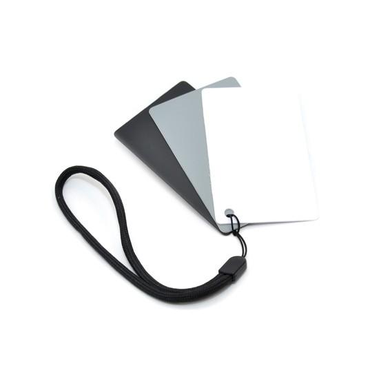 Комплект карт для настройки баланса белого JJC GC-2