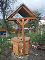 Колодцы деревянные декоративные