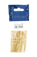 3150076 Шпильки Comair золотистые толстые 6,5см 50шт