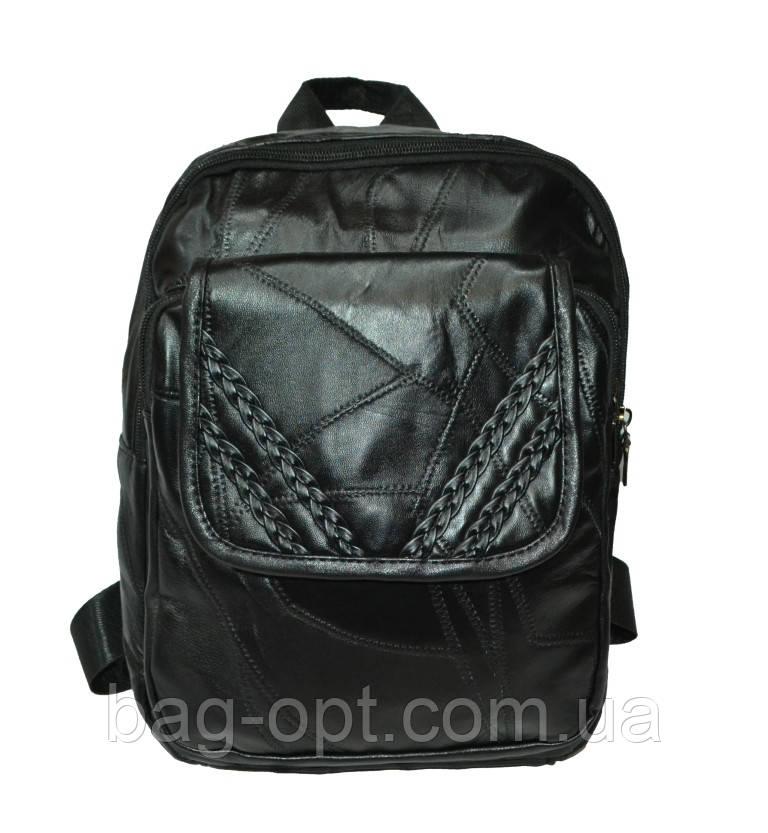 Женский рюкзак с натуральной кожи