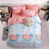 Комплект постельного белья Улыбка (евро) Berni Home
