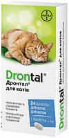 Дронтал таблетки для кішок проти глистів, 8 шт