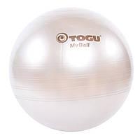 Мяч для фитнеса TOGU 65 см, MyBall, серебро