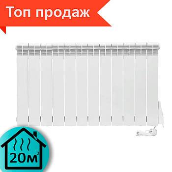 Электрорадиатор ELECTRO.12W,  Wi-Fi+программатор, 1440 Вт, 560х975х96 мм
