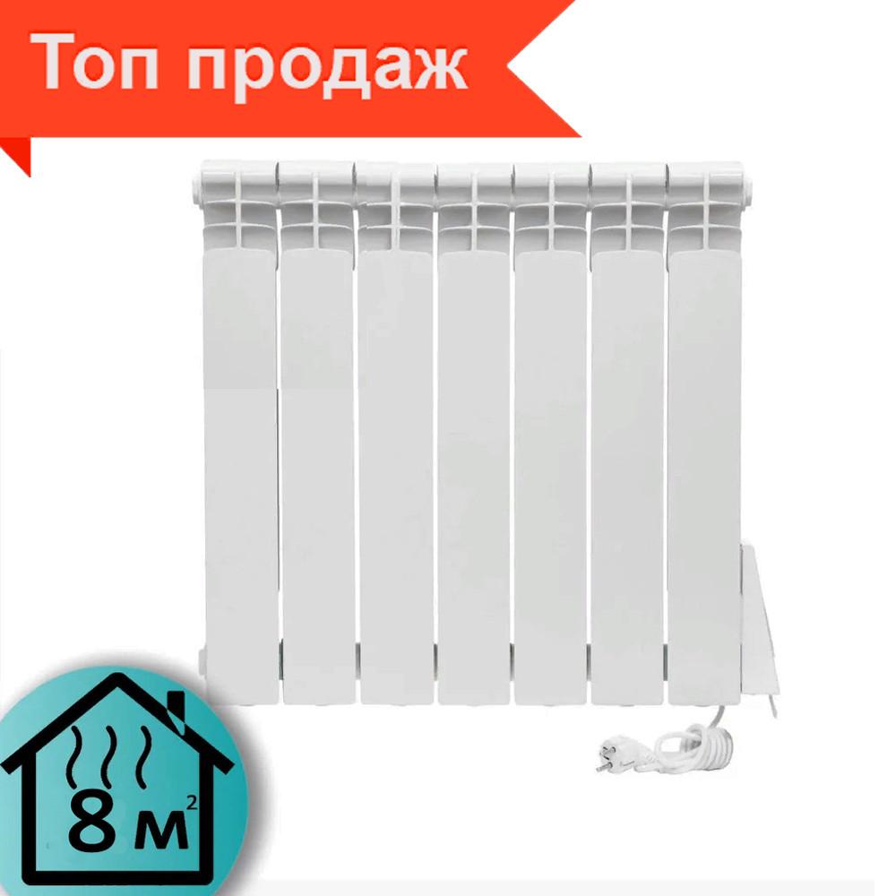 Электрорадиатор ELECTRO.6S, термостат+программатор, 720 Вт, 570х525х96