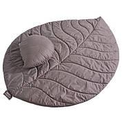 Коврик Ideia 100*150 см с подушечкой 38*50 см шоколад арт.8000031654.шоколад
