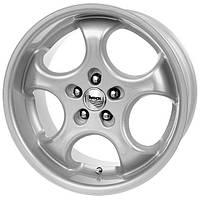 Литые диски Brock B2 R16 W7.5 PCD5x120 ET35 DIA72.6 (crystal silver)
