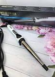 Конусна плойка для волосся Gemei GM 403 плойка для спіральної завивки волосся, фото 7