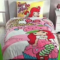 Детское и подростковое постельное белье TAC для девочки ранфорс / простынь на резинке