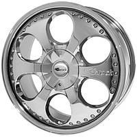 Литые диски Brock B18 R19 W9 PCD5x100 ET30 DIA63.4 (crystal silver)