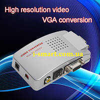 Конвертер VGA в TV RCA (тюльпаны) \ S-Video