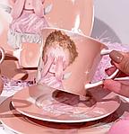 Чашка с блюдцем Гапчинская Нежные чувства 924-703