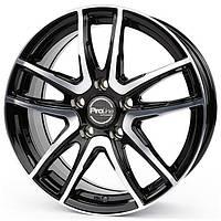 Литые диски ProLine Wheels PXV R17 W7 PCD5x112 ET45 DIA66.5 (black)
