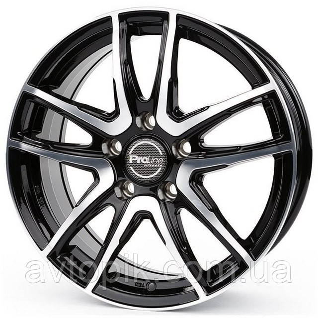 Литые диски ProLine Wheels PXV R17 W7 PCD5x100 ET45 DIA63.3 (black)