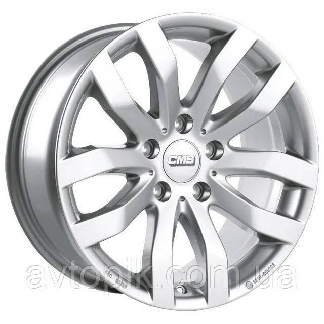 Литые диски CMS C22 R18 W7.5 PCD5x112 ET52 DIA66.5 (silver)