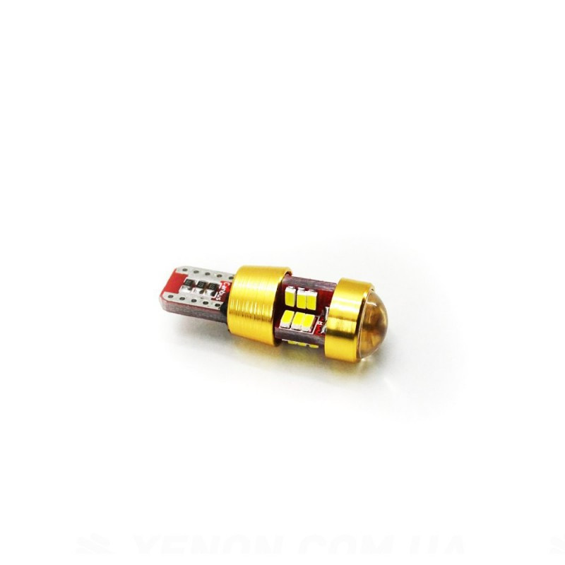 LED Galaxy T10 ( W5W ) CAN 3014 27SMD 2W White (Белый)
