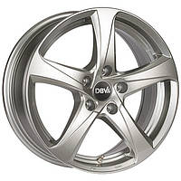 Литые диски DBV 5SP 001 R18 W8 PCD5x112 ET30 DIA74.1 (shadow silver)