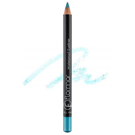 Водостойкий карандаш для глаз Flormar Waterproof Eyeliner № 116 Ice Blue (Голубой) 1,7 г