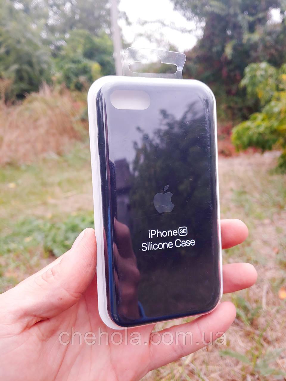 Чехлы для iPhone 8 7 SE Силиконовый противоударный Silicone Case