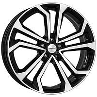 Литые диски Dezent TA R17 W7 PCD5x108 ET50 DIA63.4 (black polished)