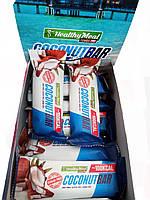 Батончик без сахара 40 грамм вкус кокос COCONUT BAR Power Pro ( блок 20 шт ), фото 1