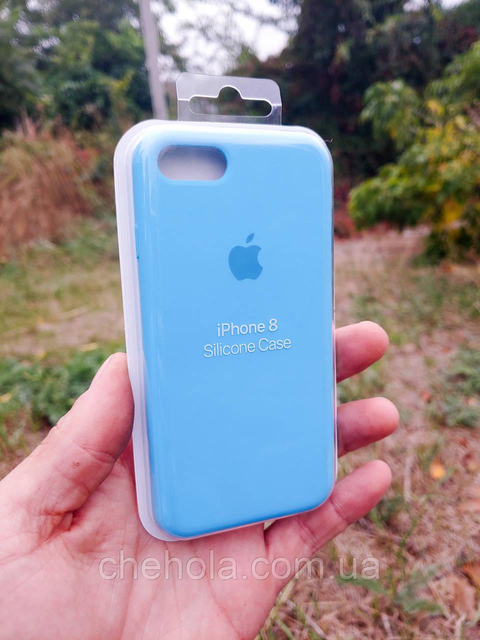 Силіконовий чохол Iphone 7 8 SE накладка Apple Silicone Case бампер HC Silicon