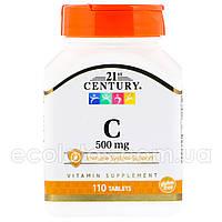 "Витамин С ""21st Century"" 500 мг 110 таблеток"