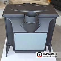 Чугунная печь KawMet S5 (11.3 KW) Premium с вторичным дожигом, фото 3