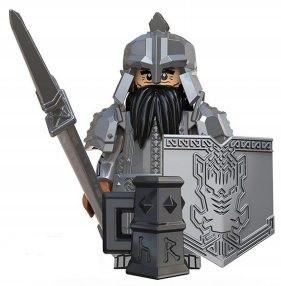Фигурка Гнома воина Dwarf warrior Властелин Колец Lord of the Rings Аналог лего