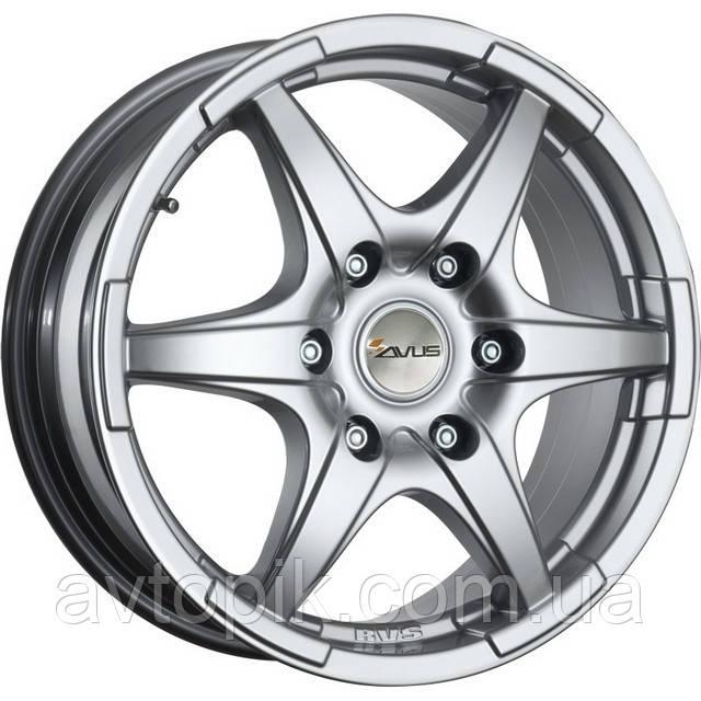 Литые диски Avus Grizzly R17 W8 PCD5x114.3 ET35 DIA79.55 (hyper silver)