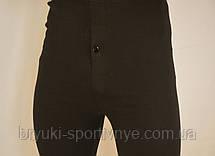 Подштанники мужские в чёрном цвете норма и батал (Турция), фото 3