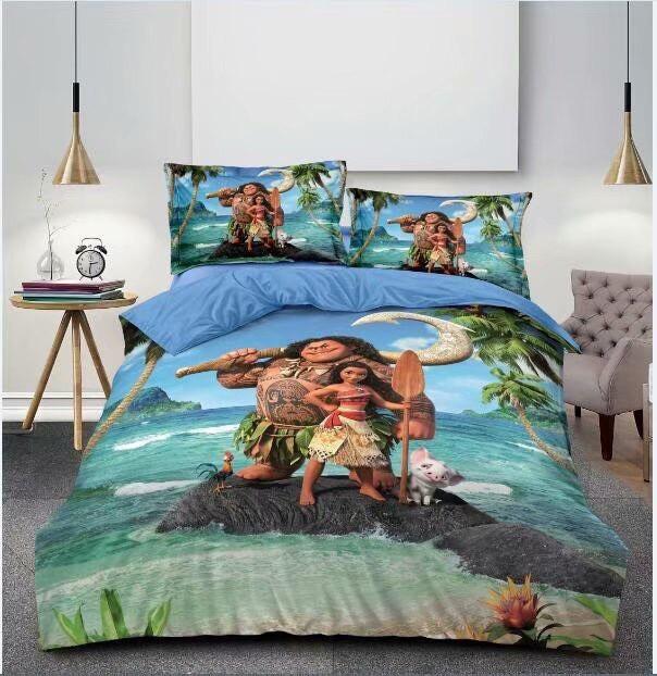 Комплект постельного белья детский  полуторный размер Байка ( Фланель)