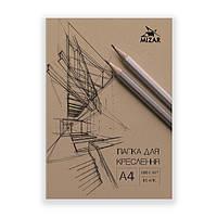 Папка чертежная А4, 10 л., 180 г/м2