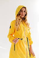 Желтый плащ дождевик