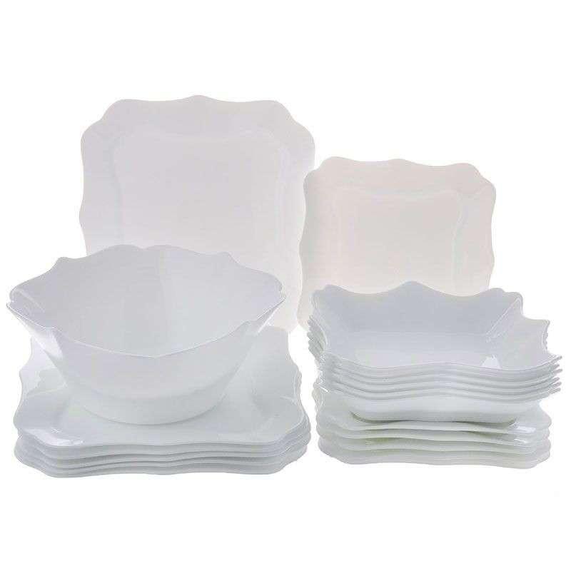 Сервиз Authentic White 19 предметов Luminarc