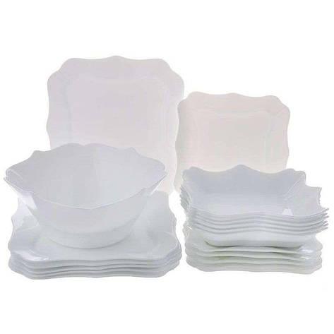 Сервиз Authentic White 19 предметов Luminarc, фото 2