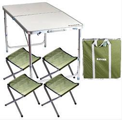 Раскладные туристические столы для отдыха на природе и кемпинга
