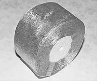 Лента парча серебристая 5 см длина 1 м