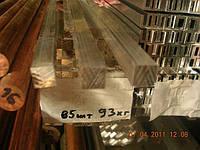 Квадрат алюминиевый 10х10 анод