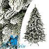 Искусственная новогодняя литая ель КОВАЛЕВСКАЯ ЗАСНЕЖЕННАЯ 185 см